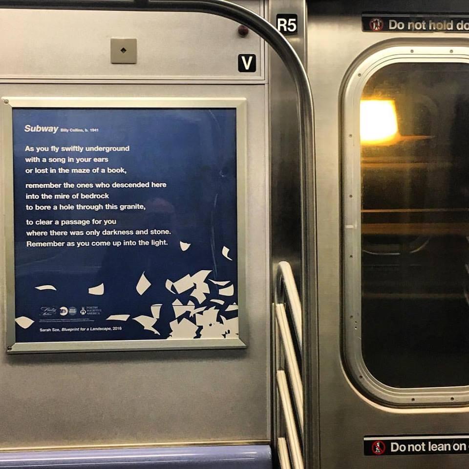 Subway Poetry…