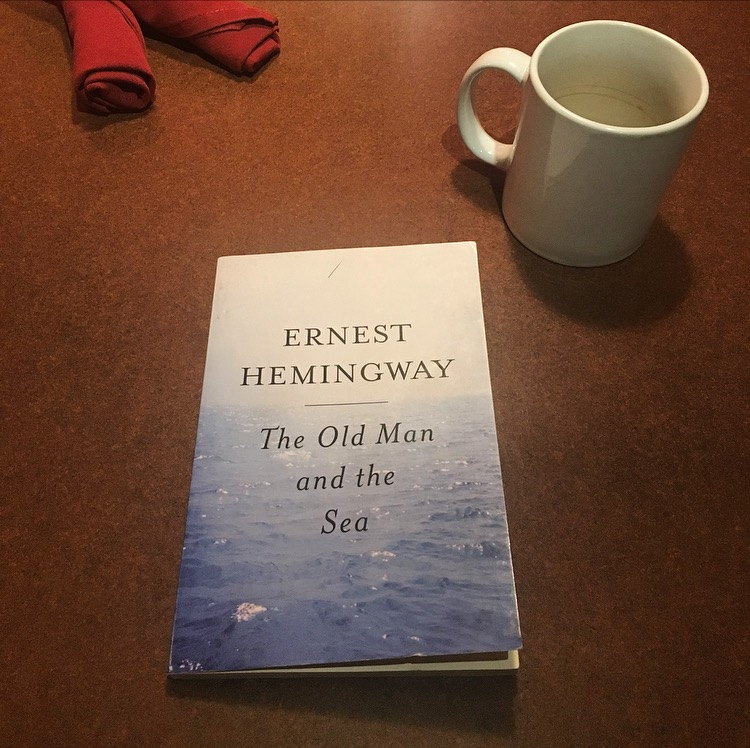 """#JustFinished: Ernest Hemingway's """"The Old Man and theSea"""""""