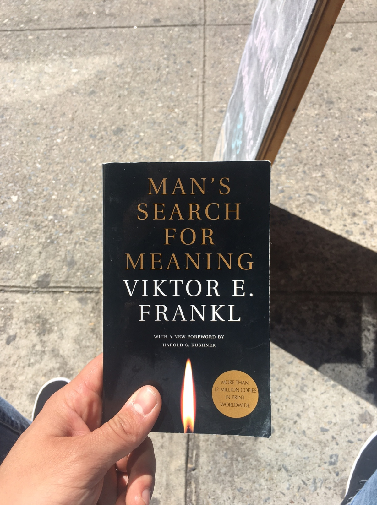 """#JustFinished: Viktor Frankl's """"Man's Search ForMeaning"""""""